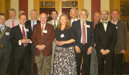 Attendees at the EQUATOR Network official launch meeting in London in June 2008
