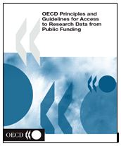 Front cover of the OECD Principles and Guidelines for Access to Research Data from Public Funding document