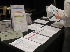 Handouts available from the EQUATOR Network Peer Review congress exhibition