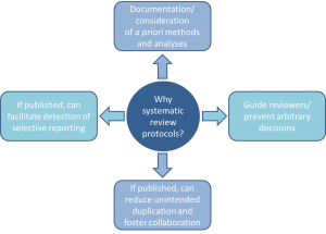 Systematic review protocol diagram