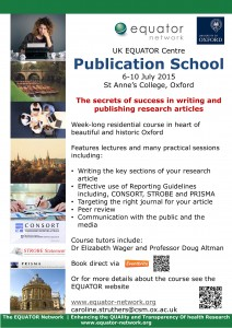 Publication school poster for print