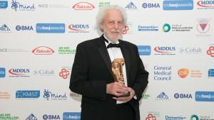 Professor Doug Altman, who was awarded the BMJ Lifetime Achievement Award