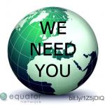 EQUATOR Network globe logo