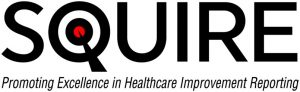 Logo for the The Standards for Quality Improvement Reporting Excellence (SQUIRE) Initiative